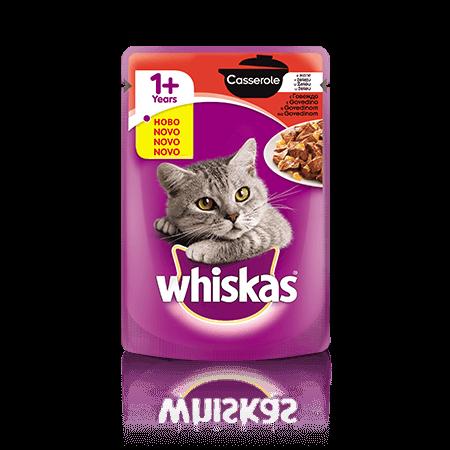 Whiskas Casserole  1+ z Govedino 85 g