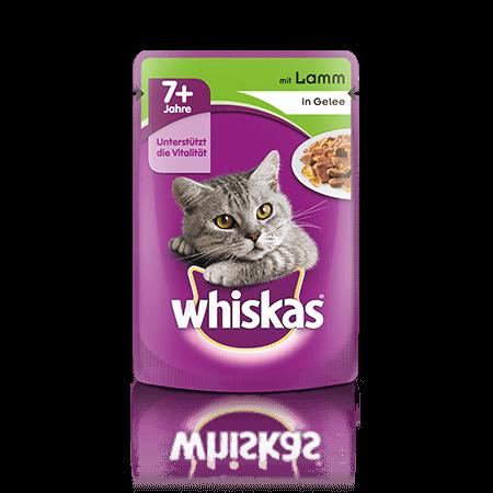 Whiskas v vrečki 7+ z Jagnjetino 100 g
