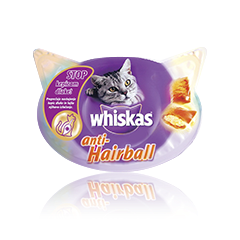 Whiskas Anti-Hairball  60 g