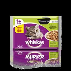 Whiskas Casserole 1+ Mešani izbor 4 x 85 g