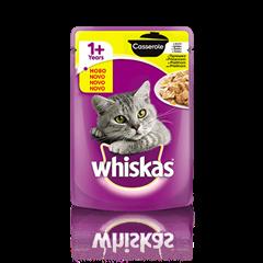 Whiskas Casserole  1+ s Piščancem 85 g
