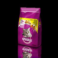 Whiskas suha hrana s Piščancem 1+ 950 g
