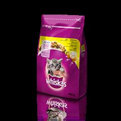 Whiskas suha hrana Junior Piščanec 300 g
