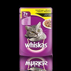 Whiskas v vrečki 7+ s Piščancem 100 g