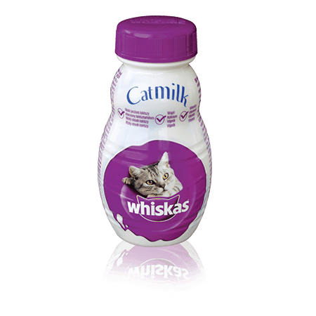 WHISKAS® Pochúťky Mlieko pre mačky 200ml