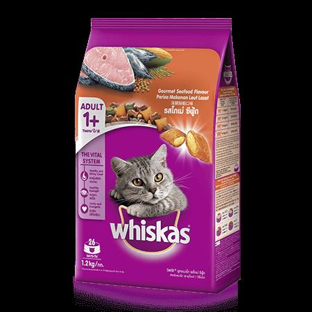 วิสกัส<sup>®</sup> แบบเม็ด แมวโต 1+ <br/>รสโกเม่ ซีฟู้ด