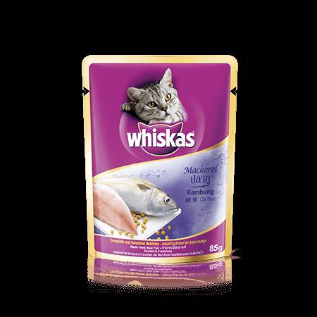 วิสกัส<sup>®</sup> แบบซอง แมวโต 1+ <br/>ปลาทู