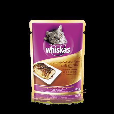 วิสกัส<sup>®</sup> แบบซอง แมวโต 1+ <br/>รสปลาซาบะย่าง