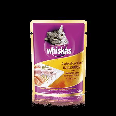 วิสกัส<sup>®</sup> แบบซอง แมวโต 1+ <br/>ทะเลรวมมิตร