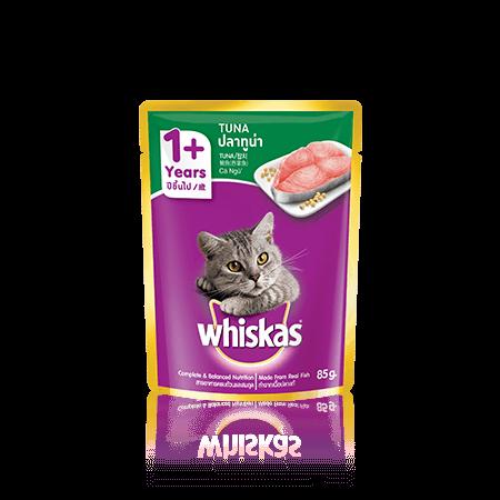 วิสกัส<sup>®</sup> แบบซอง แมวโต 1+ <br/>ปลาทูน่า
