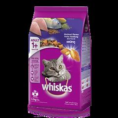 วิสกัส® แบบเม็ด แมวโต 1+ <br/>รสปลาทู | WHISKAS®