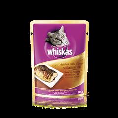 วิสกัส® แบบซอง แมวโต 1+ <br/>รสปลาซาบะย่าง