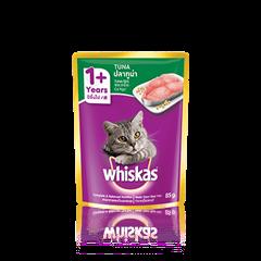 วิสกัส® แบบซอง แมวโต 1+ <br/>ปลาทูน่า | WHISKAS®