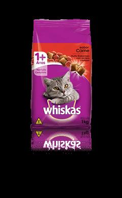 Ração para Gatos Whiskas® Sabor Carne 1kg