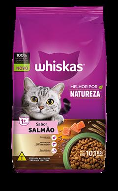 RaçãoSecapara GatosWHISKAS® Melhor por Natureza™ Salmão10,1 kg