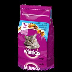 WHISKAS® Вкусные подушечки с тунцом для взрослых кошек, 300 r