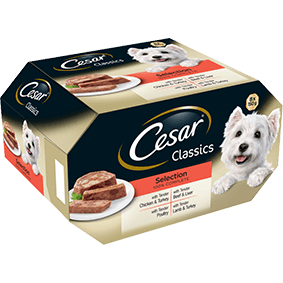 CESAR Classics Dog Trays Mixed Selection 8 x 150g