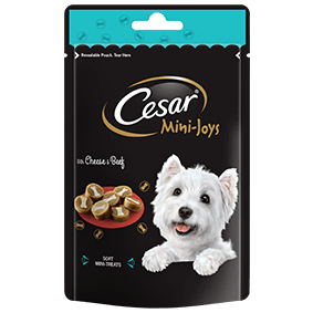 CESAR Mini-Joys Dog Treats Cheese & Beef 100g