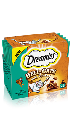 Dreamies™ Deli-Catz 80% Turkey