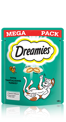 Dreamies™ Turkey 180g