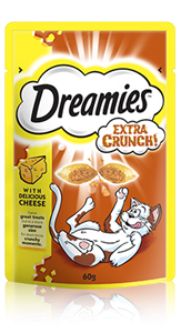 Dreamies™ Cheese Extra Crunch
