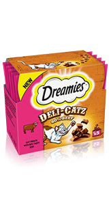 Dreamies™ Deli-Catz 80% Beef