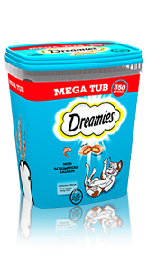 Dreamies™ Tub Salmon