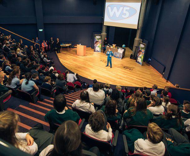Lecture Theatre W5 Stack 1