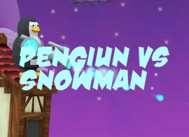 Penguin vs Snowman