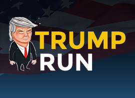 ריצה עם טראמפ