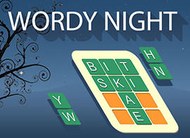 play Wordy-night