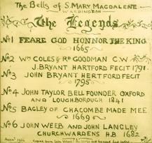 Legend of the Wardington bells