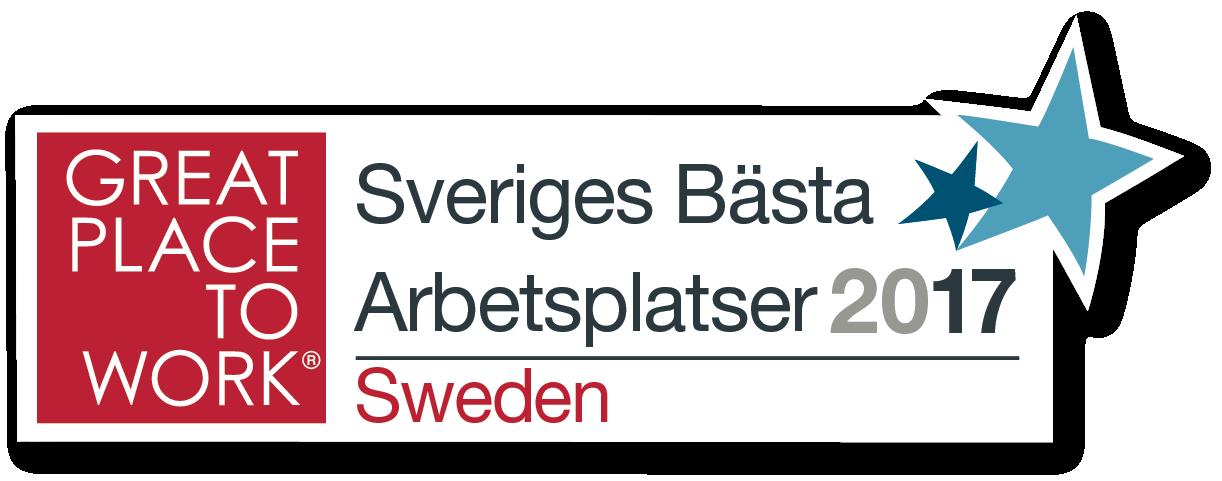 Sveriges bästa arbetsplatser 2017
