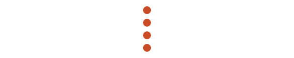 Vertical orange dots