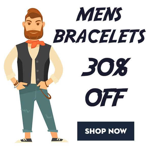 Summer Clearance - Mens Bracelets
