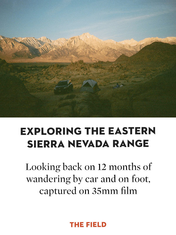 Exploring the Eastern Sierra Nevada Range