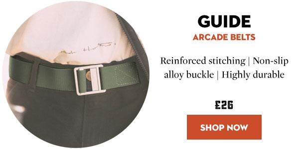 Arcade Belts - Guide Belt - Climbing Utility Belt