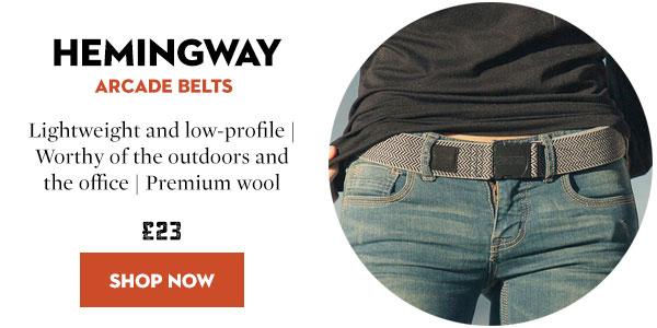 Arcade Belts - Hemingway Belt - Reserve Collection
