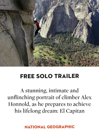 Free Solo Trailer UK