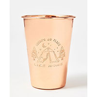 United By Blue - 16 oz Copper Tumbler - No Place Like Home