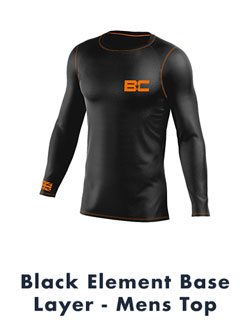 Black Element Base Layer Mens