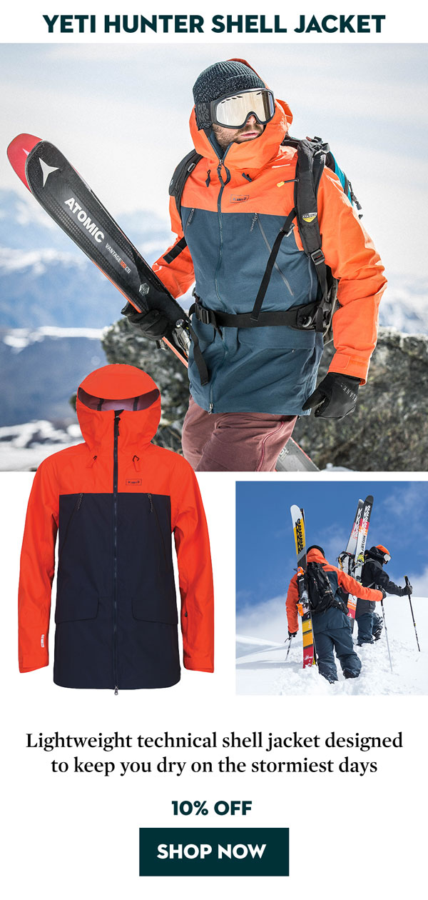 Planks Yeti Hunter Shell Jacket