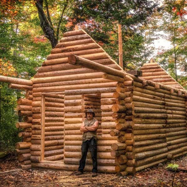 Log Cabin Timelapse