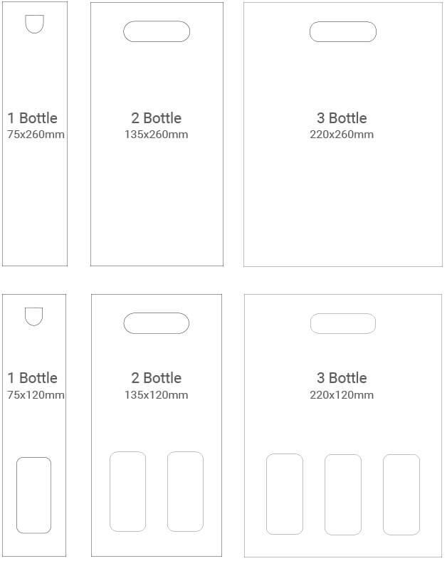 Print Area Bags & Cartons