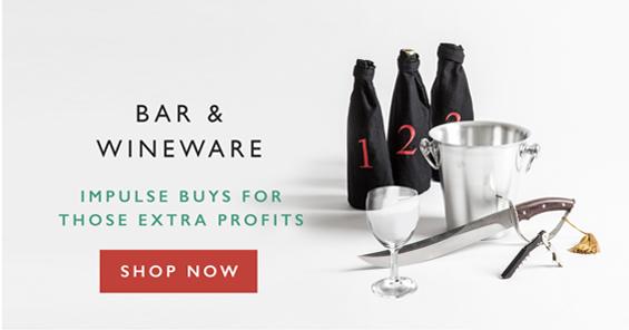 Bar & Wineware   Impulse Buys For Those Extra Profits