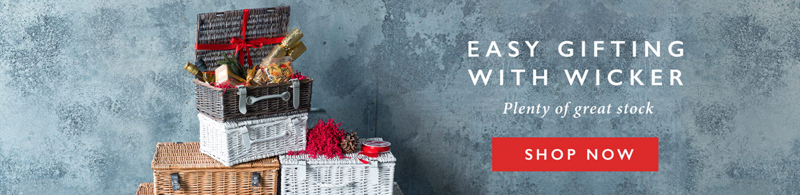 Easy Gifting With Wicker