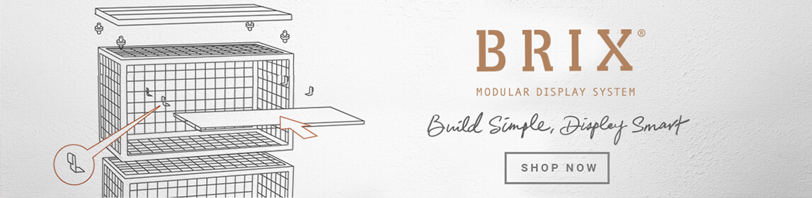 BRIX: Modular Display System | Build Simple, Display Smart - Shop Now!
