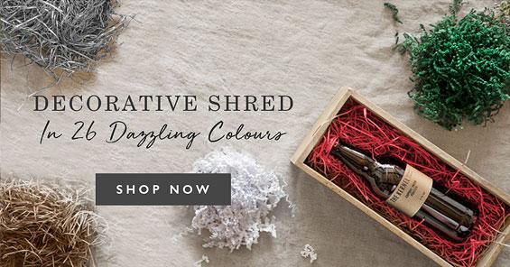 Decorative Shred in 26 dazzling colours