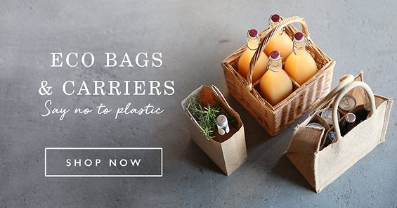 Eco Bags & Carriers. Say no to plastic