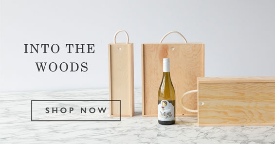 Into the Woods - Wooden Gift Boxes